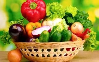 Какие овощи можно при повышенной кислотности и гастрите