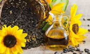 Подсолнечное масло при гастрите с повышенной кислотностью